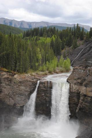 Ram Falls, Ab in summer of 2012.