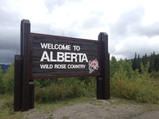 Wild Rose Country - At the USA/Canada border in Waterton National Park.